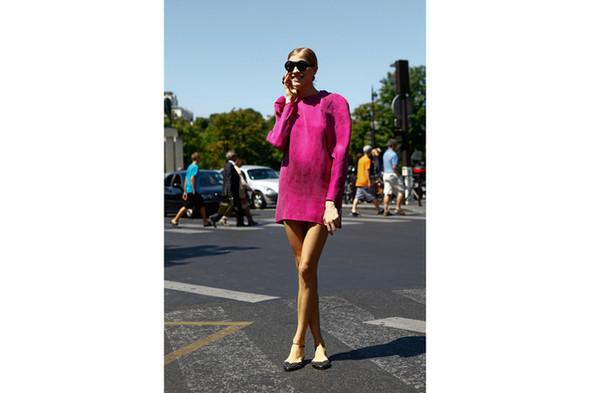 Уличный стиль на Неделе высокой моды в Париже. Изображение № 15.