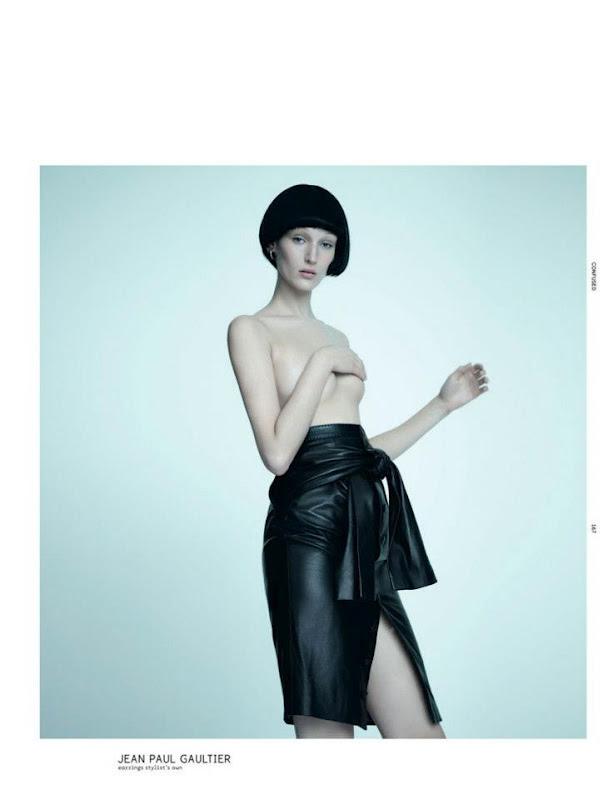 Новые съемки Dazed & Confused, Vogue, Pop и Madame Figaro. Изображение № 18.