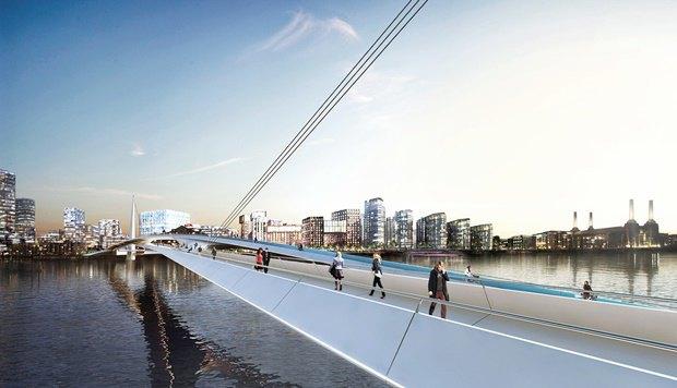 Выложены 74 проекта нового моста через Темзу. Изображение № 61.