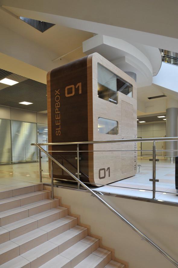 В аэропорту Шереметьево установлен капсульный отель. Изображение № 1.