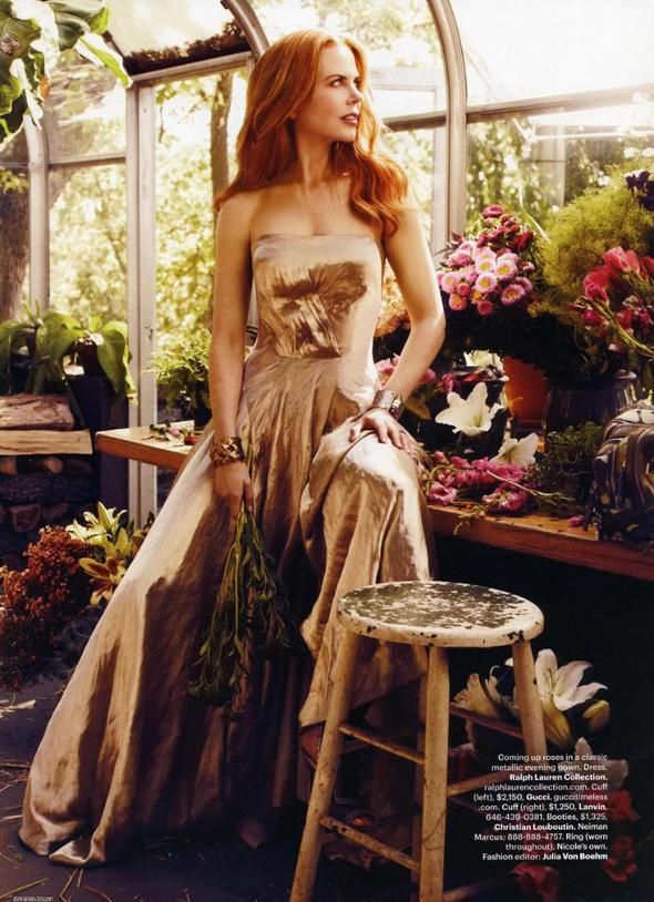 Изображение 72. Съемки: Harper's Bazaar, Industrie, Vogue и другие.. Изображение № 5.