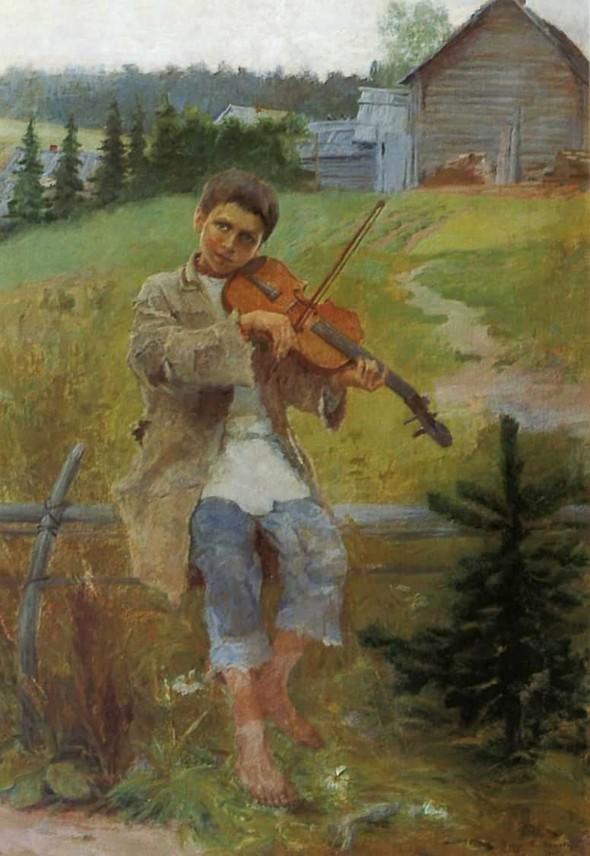 Музыка в живописи. Изображение № 2.