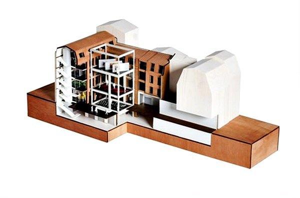 Бюро Рема Колхаса показало проект «гибкой» галереи в здании XIX века  . Изображение № 2.