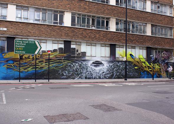 Стрит-арт в Лондоне. Изображение № 32.