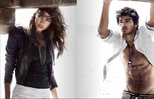 Рекламная кампания Armani Exchange весна-лето 2010. Изображение № 10.