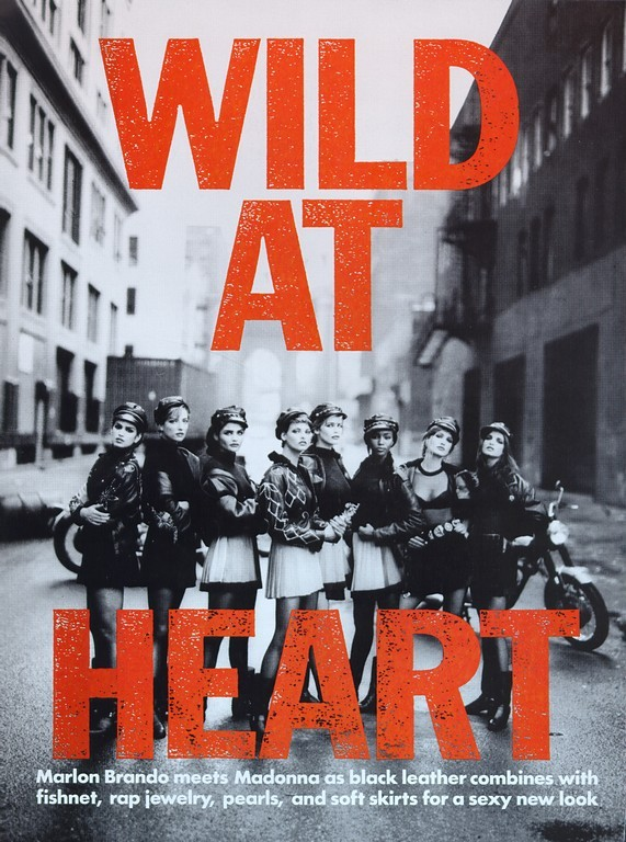 P. Lindbergh Vogue(US) Wild at heart september 1991. Изображение № 1.