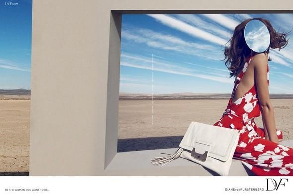 Превью кампаний: Diane von Furstenberg, McQ и T by Alexander Wang. Изображение № 2.