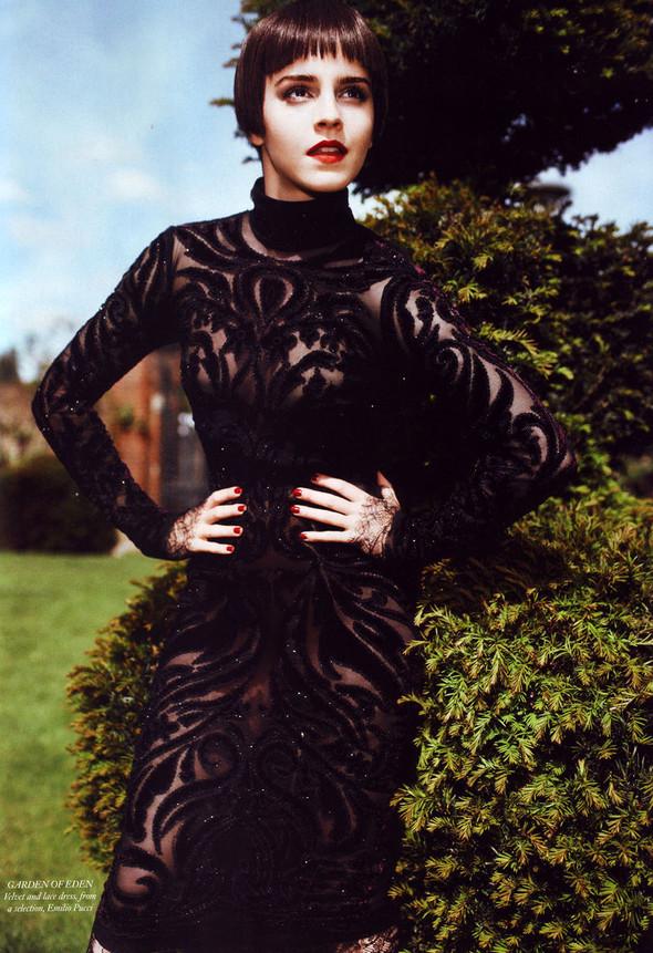 Съёмка: Эмма Уотсон в британском Harper's Bazaar. Изображение № 3.