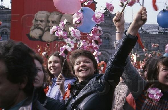 Первомайская демонстрация, 1973 г.. Изображение № 131.