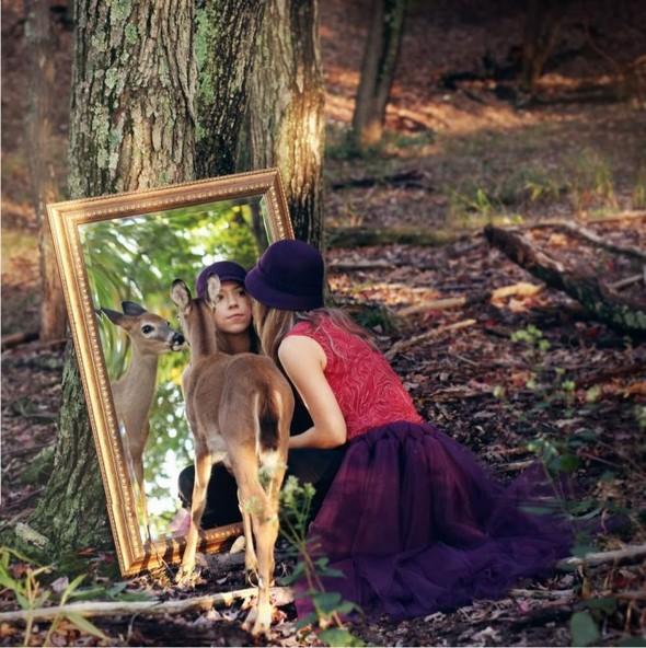 ЭМИЛИ ЛИ : девушка и олень. Изображение № 3.