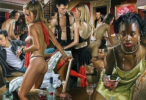 Изображение 5. Терри Роджерс выбрал для своего творчества тему молодежных фетишей: желание во всех ее переизбытках.. Изображение № 5.