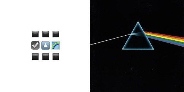 Музыкант воссоздал обложки классических альбомов из Emoji. Изображение № 8.
