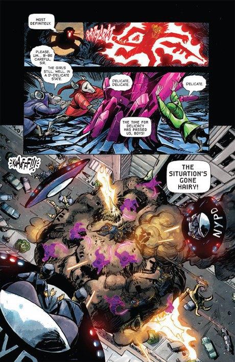 «Никаких зомби и супергероев»: Интервью с создателями комикса Shutter. Изображение № 17.