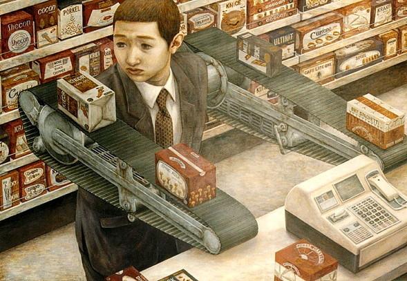 Творчество японского сюрреалиста Tetsuya Ishida. Изображение № 6.