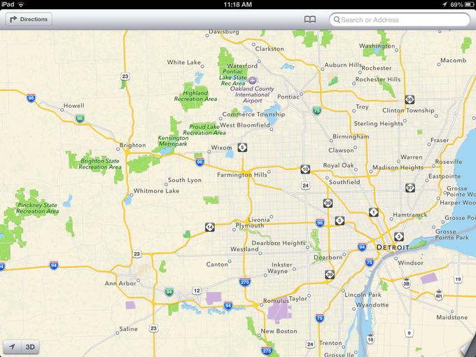Карты Apple по популярности обошли Google Maps. Изображение № 1.