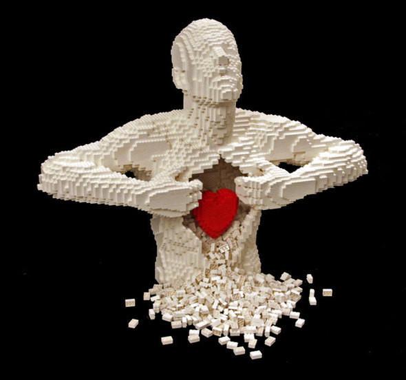 Изображение 15. Lego art: Люди, продолжающие играть.. Изображение № 15.