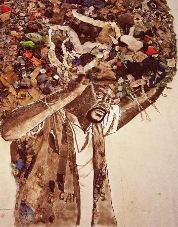 Вик Мунис-бразильский художник, фотограф и представитель лэнд-арта. Изображение № 1.