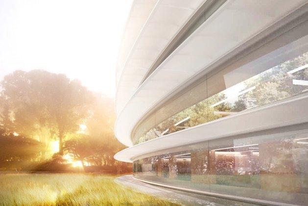 Опубликован макет футуристического кампуса Apple. Изображение № 7.