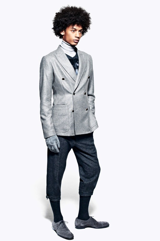 Мужские лукбуки Alexander McQueen, Comme des Garcons, Louis Vuitton и Club Monaco. Изображение № 15.