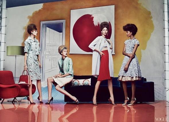 Vogue US March 2012. Изображение № 5.