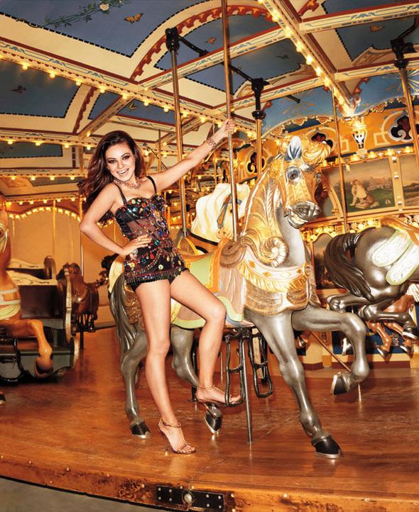 Съёмки: Джеймс Франко для GQ Style и Мила Кунис для Harper's Bazaar. Изображение № 13.