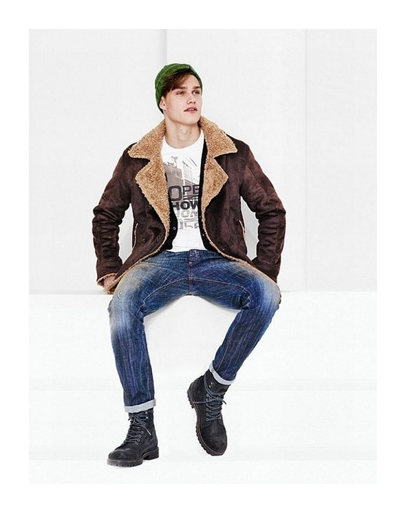 Лукбук: United Colors of Benetton Fall 2011 Menswear. Изображение № 10.