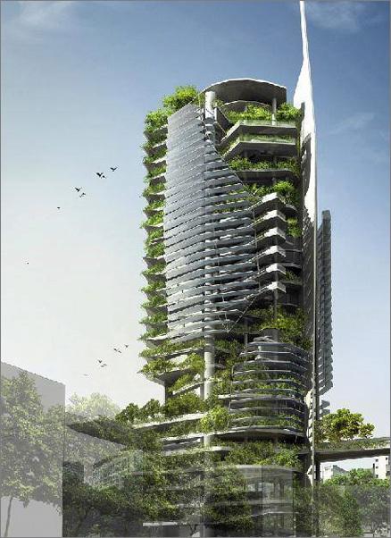 «Зеленые» небоскребы. Изображение № 2.