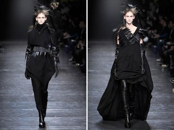 Изображение 3. Показы на Paris Fashion Week FW 2011: день 3.. Изображение № 4.