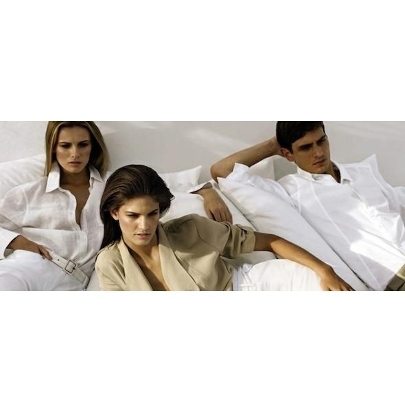 Изображение 1. Рекламные кампании: Calvin Klein White Label, Enrico Coveri и Kenzo.. Изображение № 1.
