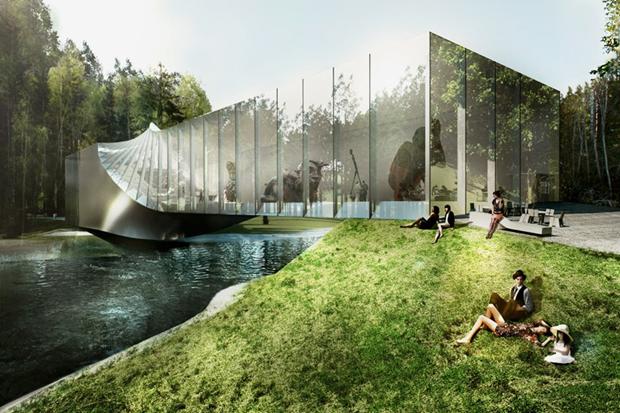 Архитектура дня: «перекрученный» музей авторства BIG под Осло. Изображение № 6.