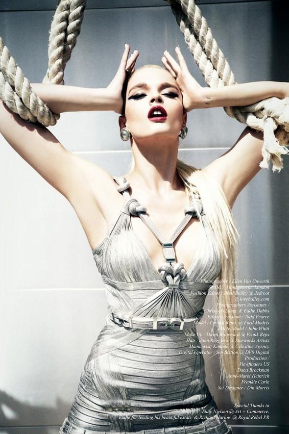 Съёмки: Playing Fashion, Schon, Vogue и другие. Изображение № 49.