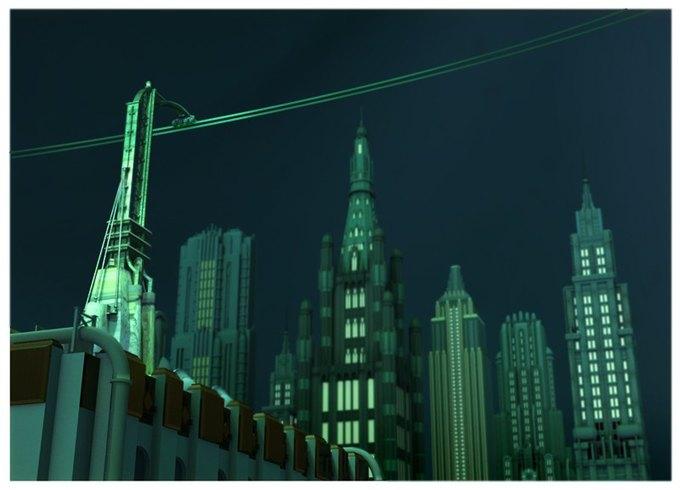 Опубликованы концепт-арты экранизации Bioshock. Изображение № 11.