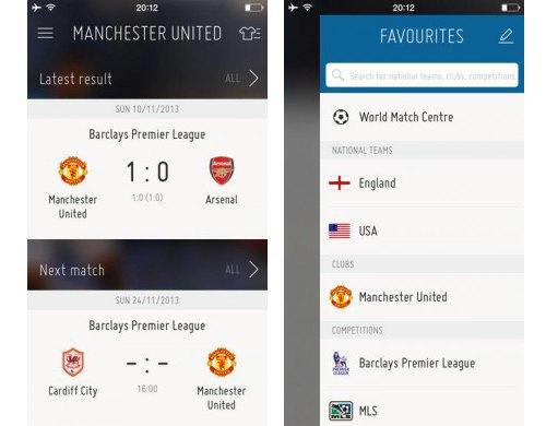 FIFA выпускает своё приложение. Изображение № 1.