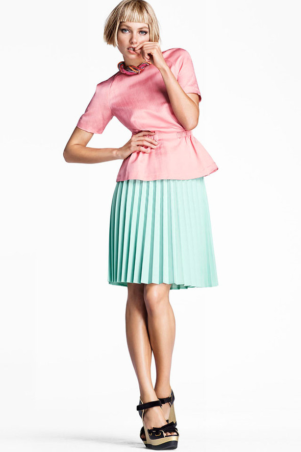Джессика Харт в рекламе H&M. Изображение № 6.