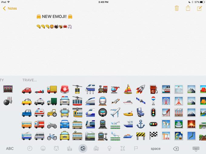 В iOS 9.1 появятся новые эмодзи . Изображение № 7.