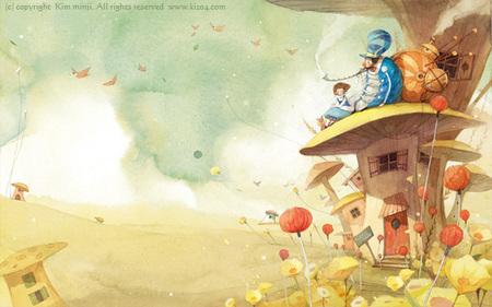Kimmin ji– акварель видеальном исполнении. Изображение № 10.