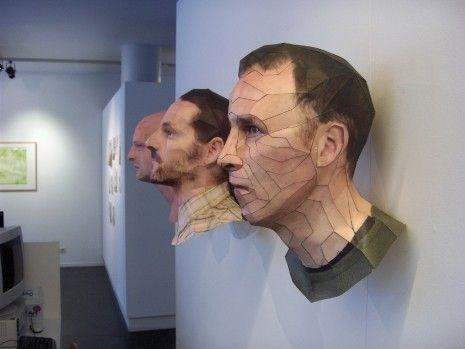 Скульптура-оригами. Изображение № 3.