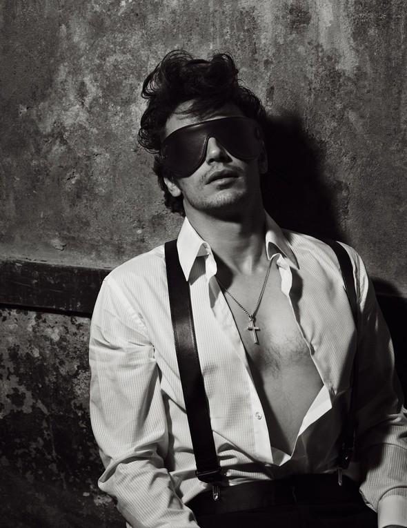 Съёмки: Джеймс Франко для GQ Style и Мила Кунис для Harper's Bazaar. Изображение № 9.
