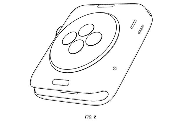 Apple запатентовала внешний вид Watch. Изображение № 2.