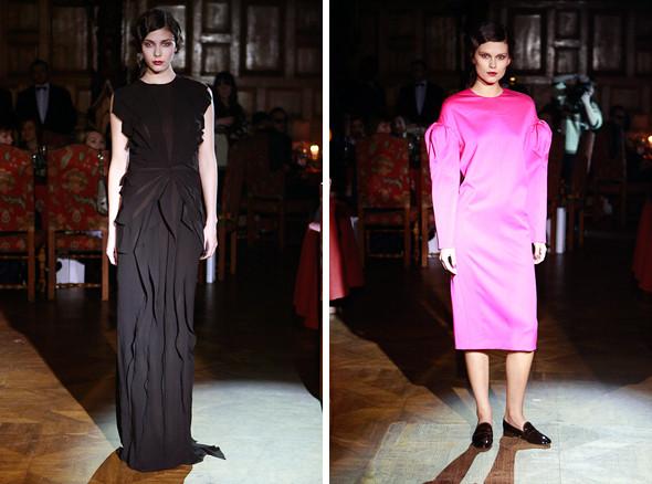 Изображение 12. Vardoui Nazarian FW 2011: прозрачные юбки и пушистые майки.. Изображение № 12.
