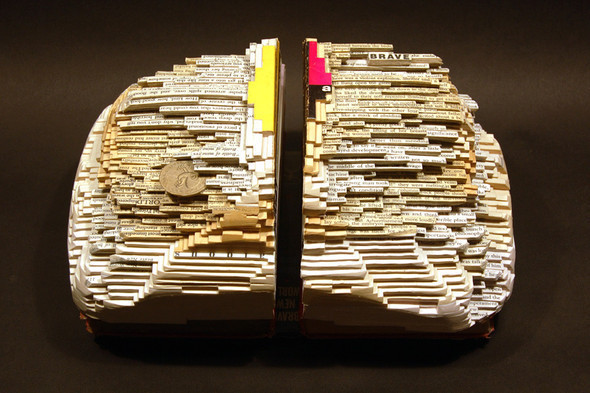 Book carving отБрайана Деттмера [Brian Dettmer]. Изображение № 8.