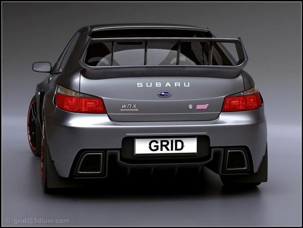 Subaru impreza WRX STIConcept. Изображение № 3.