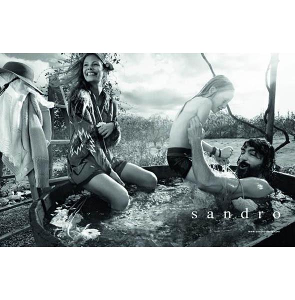 Рекламная кампания Sandro SS 2011. Изображение № 2.