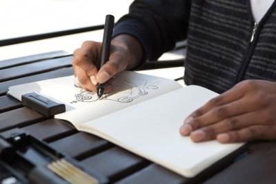 Цифровое перо: эскизы сразу переводятся в цифру. Изображение № 1.