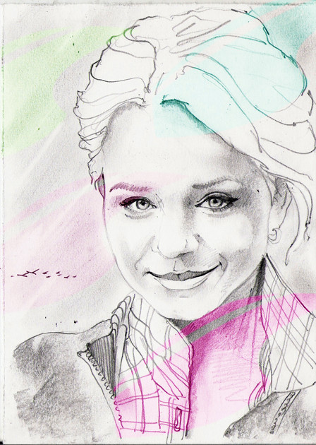 Sketch portraits. Изображение № 3.