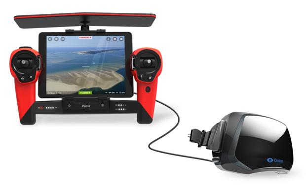 Новый дрон Parrot управляется с помощью Oculus Rift. Изображение № 2.