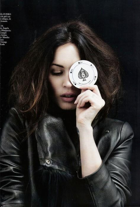 Съемка: Меган Фокс для испанского Vogue. Изображение № 7.