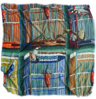 Завязать: 11 марок платков с принтами. Изображение № 15.