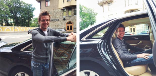 Uber запустился в Петербурге . Изображение № 1.