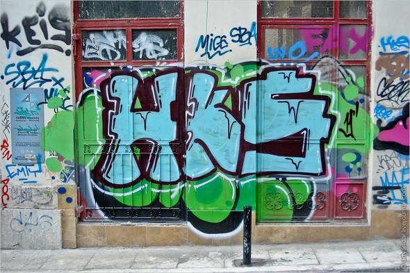 Стрит-арт и граффити Афин, Греция. Изображение № 34.